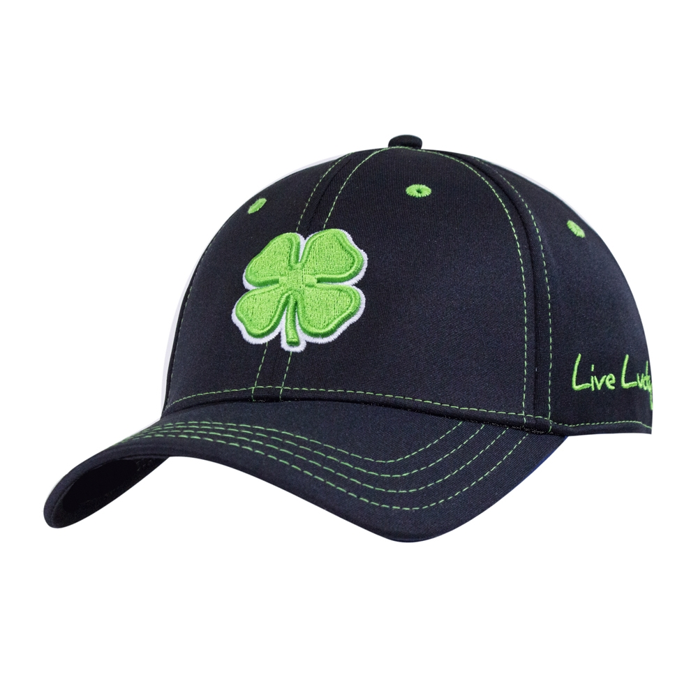 Black Clover Mens Premium Clover  51 Lime White Black Fitted Hat - Tactical  Intent 1d5b32b6df85
