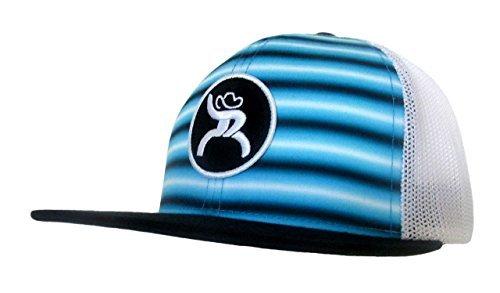 c622a2f69004d Hooey Hat - Blue Stripes Trucker Hat - Blue Black White - Tactical ...