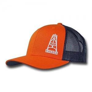 """best sneakers 89975 7b343 Hooey """"Brahma"""" Orange Oil Gear Cap"""
