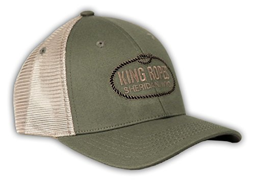 0a7a671c4c102 Kings Saddlery Brand King Ropes Imperial Moss and Khaki Mesh Hat ...