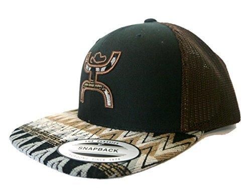 new arrival a7b54 195ff Hooey Hat –  Tut  Aztec Print Trucker Hat – Black Brown