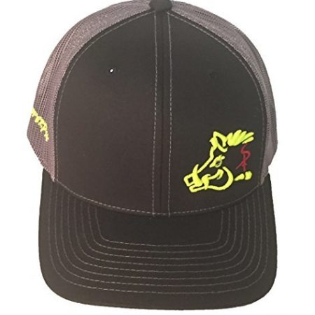 8f368565089 Sniper Pig Black and Yellow Snapback Hat