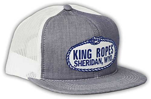 d352001a Kings Saddlery Brand King Ropes Adjustable Snapback Denim with White Mesh  Hat - Tactical Intent
