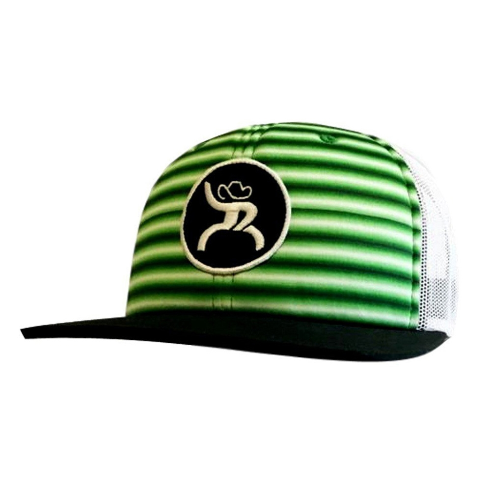buy popular 2ff31 724f5 HOOey Hat Mens Baseball Cap Chute Roughy OSFA Green Stripes 4323T-BKGN -  Tactical Intent