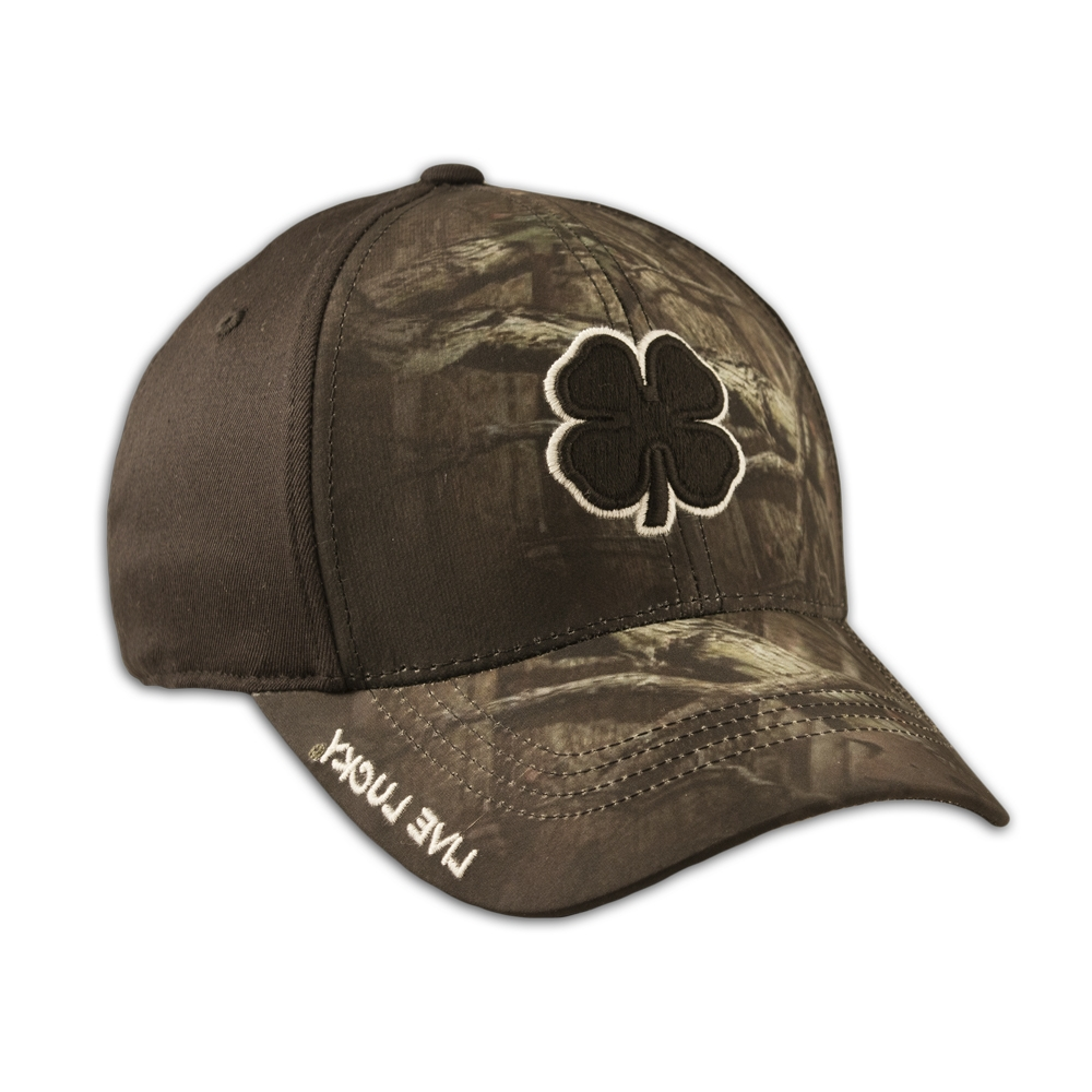Black Clover Black Stone Camo Hunt Lucky  13 Premium Fitted Hat - L ... f12c89bccf9
