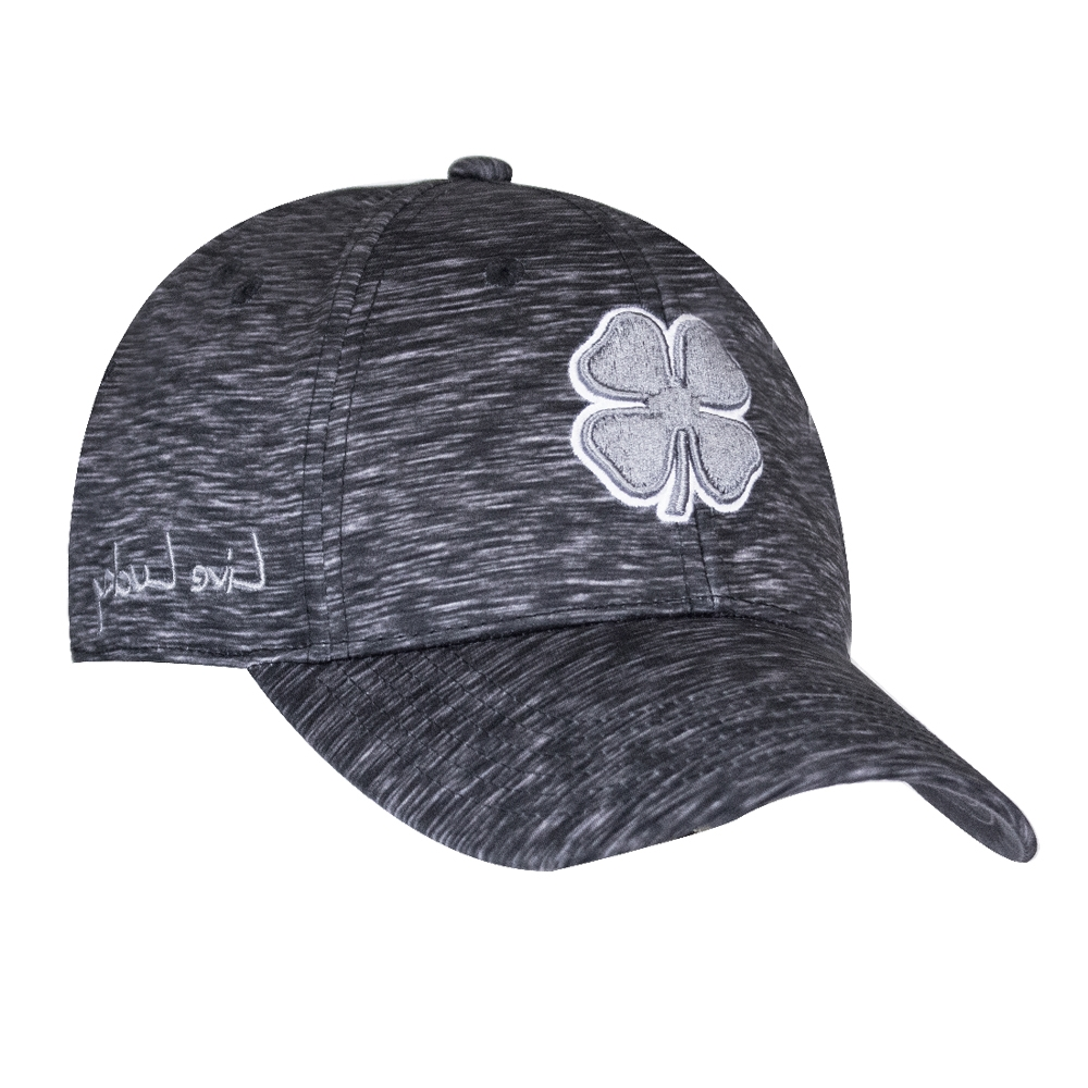 Black Clover Black Lucky Heather Premium Fitted Hat - L XL ... 697414357a3b