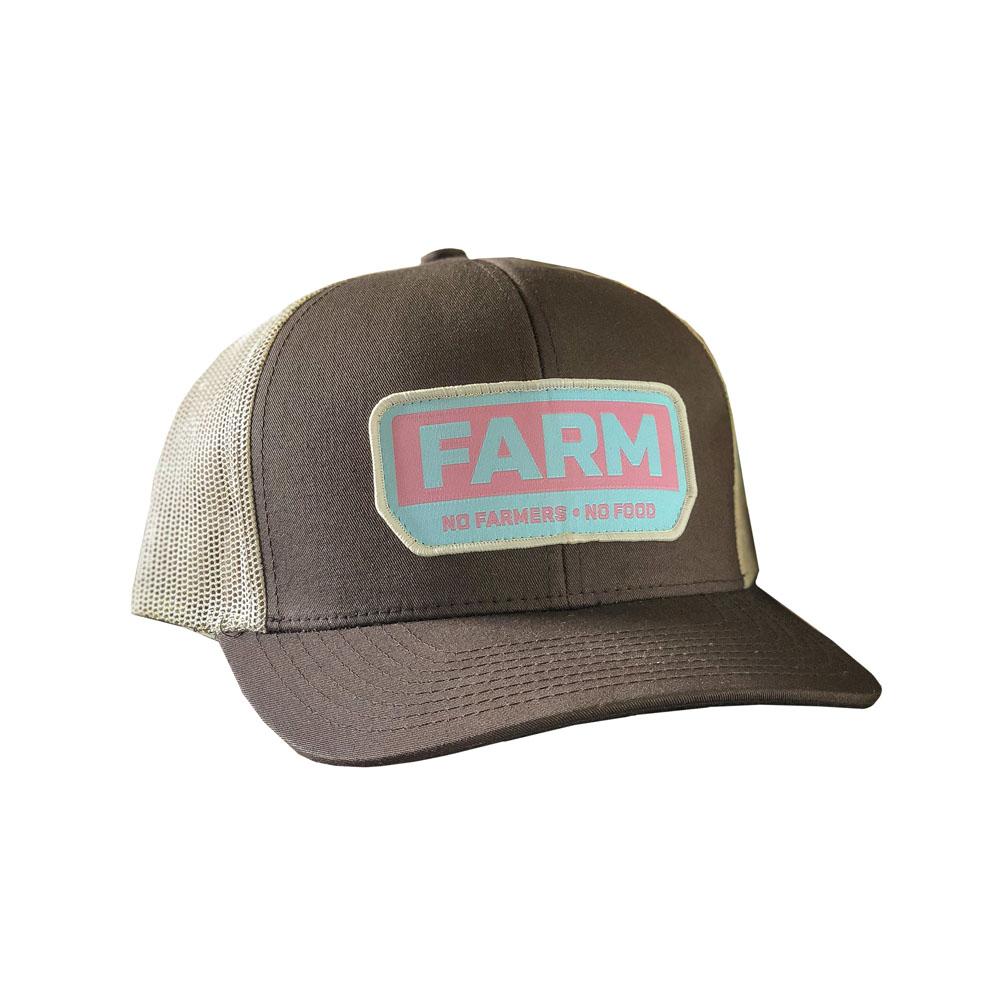 b6d9e964 YNOT Lifestyle Brand 'Farm Patch' Adjustable Snapback Hat, Retro Blue