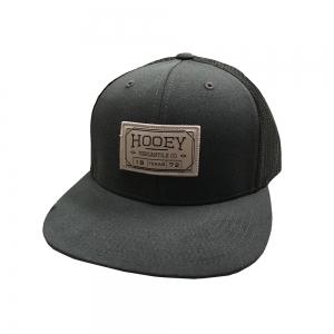"""sports shoes 9af97 dd3e9 HOOey """"Doc"""" Gray Black Adjustable Snapback Hat"""