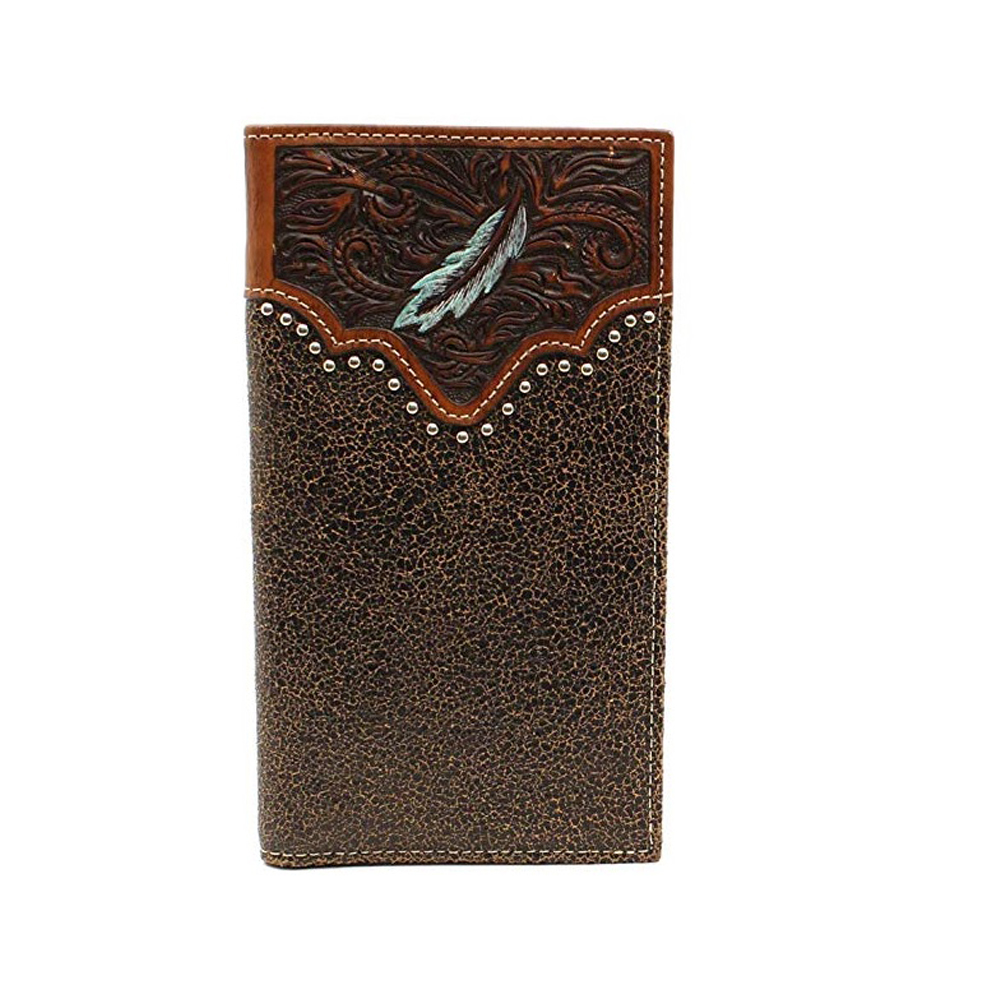 Ariat Men S Painted Feather Rodeo Wallet Tactical Intent