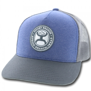 """quality design d1f76 b02a7 HOOey """"Guadalupe"""" Adjustable Snapback Hat, Purple Gray"""