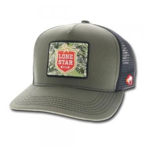 more photos 73757 abd17 HOOey Lone Star Beer Patch Adjustable Snapback Hat